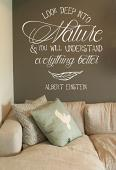 Deep Into Nature Alternate Wall Decal