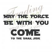 Force Dark Side Wall Decals