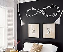 Infinity Love Life Live Wall Decal