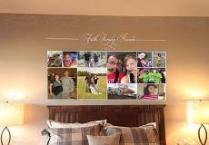 4 x 2 Photo Collage Print