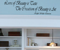 Emerson Quote Wall Decal