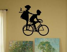 Bike Kids Large Wall Decal