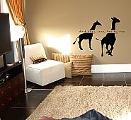And They Came Two By Two Wall Decal
