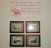 Christmas Magic Wand Wall Decal