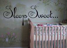 Sleep Sweet Wall Decal