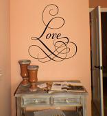 Love Fancy Wall Decal