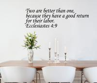 Ecclesiastes Wall Decal