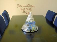 Christmas Calories Wall Decal