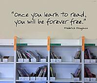 Once You Learn To Read Wall Decal