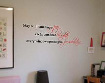 Joy Laughter Possibilities Wall Decal