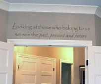 Past Present Future Wall Decal