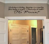 The Present Wall Decal