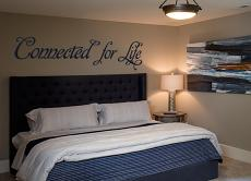 Connected for Life Wall Decal