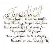 Because Family Wall Decal
