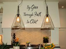 By Grace Through Faith Wall Decal