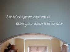 Treasure Heart Wall Decal