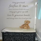Touch Fireflies and Stars Wall Decal