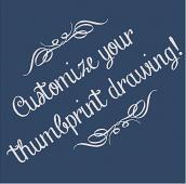 Customize Your Thumbprint Drawing