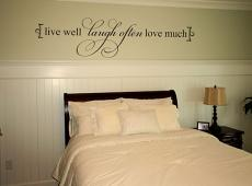 Live Well Wall Decal