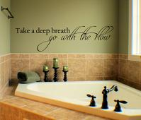 Go With The Flow Wall Decal