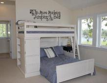 No More Monkeys Jumping On The Bed Wall Decal