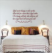 A Loyal Heart Wall Decal