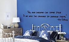 Dreams Come True Disney Wall Decal