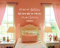 Abilities and Choices Wall Decal