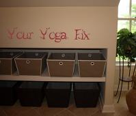 Yoga Fix Wall Decal