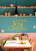 Choose Joy Wall Decal