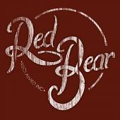 Red Bear Printed Canvas