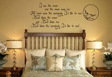 Moon Rhyme Wall Decal