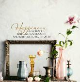 Happiness Is A Choice Wall Decal