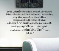 Beauty Inside Wall Decal