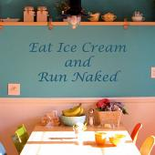 Eat Ice Cream and .. Wall Decal