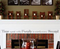 Time With Family Worth Every Second Wall Decal