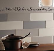 Seasoned with Love Wall Decal