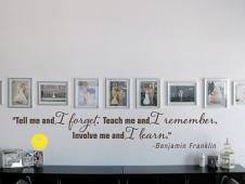 Franklin Wall Quote