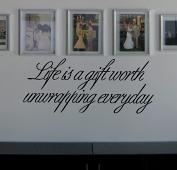 Life is A Gift Wall Decal