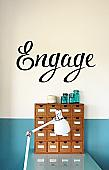 Engage Wall Decal