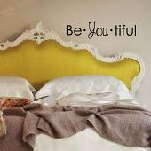Be-You-Tiful Wall Decal