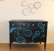 Paisley Doodles Wall Decal