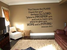 Hope And Future Wall Decal