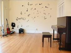 Large Fan Notes Wall Decal