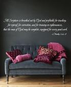 All Scripture Wall Decal