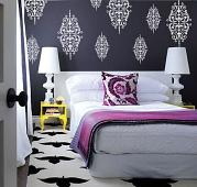Ornate Baroque Wall Decal