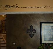Together Place To Be Wall Decal