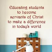 Educating Students Wall Decal