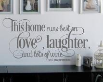 This Home Wall Decal