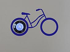 NEST Bike Wall Decal